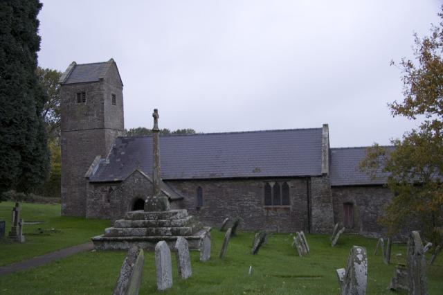 Church of St Thomas a Becket, Wolvesnewton, Monmouthshire _MG_0111.jpg Photo © Martin Crampin, Imaging the Bible in Wales