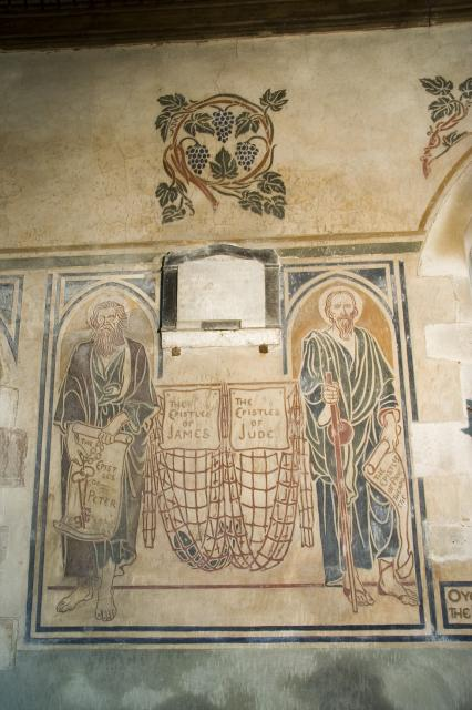 St Peter and St Paul with Nets Symbolising St James and St Jude    from    The Writers of the New Testament
