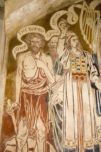 John the Baptist, Isaiah and Samuel    from    The Benedicite