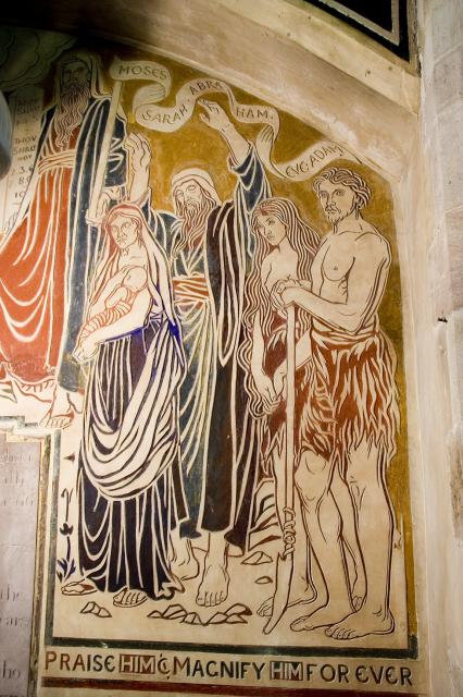Moses, Sarah, Abraham, Eve and Adam    from    The Benedicite
