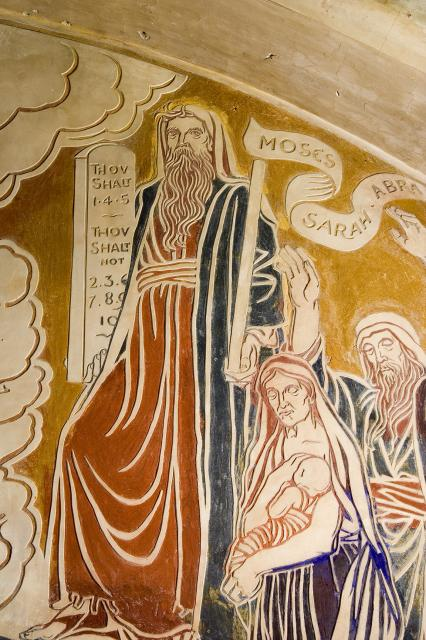 Moses, Sarah and Abraham    from    The Benedicite