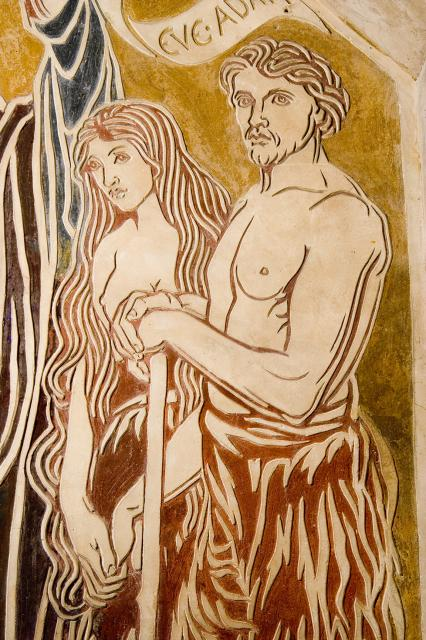 Adam and Eve    from    The Benedicite