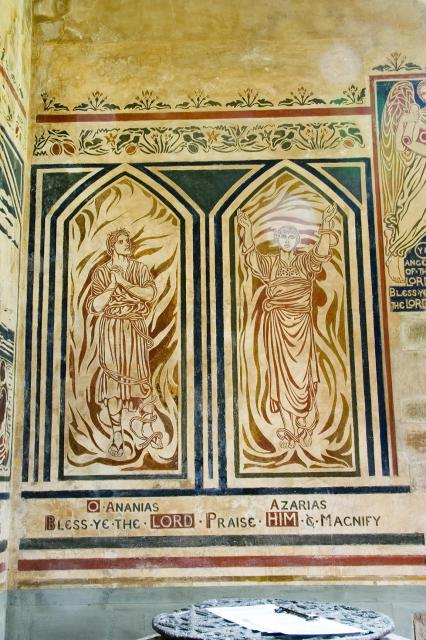 Ananias and Azarias    from    The Benedicite