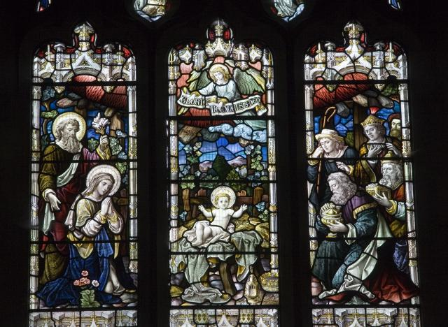 Nativity with the Adoration of the Shepherds and the Magi