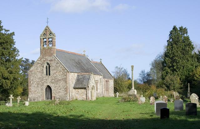 Church of St Mary, Llanfair Cilgedin, Monmouthshire _MG_2419.jpg Photo © Martin Crampin