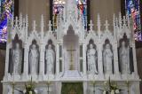 Reredos with Saints