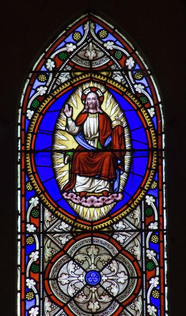 Christ in Majesty    detail from    Scenes from the Gospels