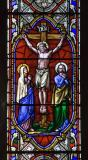Crucifixion with the Virgin Mary and St John: Scenes from the Gospels