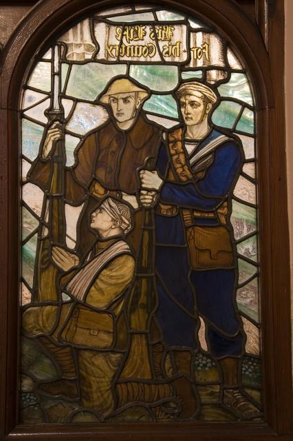 Christ with Servicemen