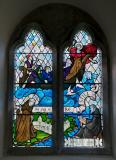 Christ Calming the Storm with St Seiriol and St Cybi