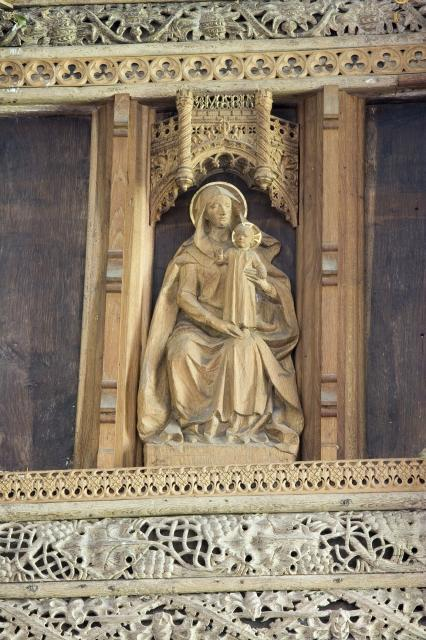 Virgin and Child    from    Figures on the Rood Screen