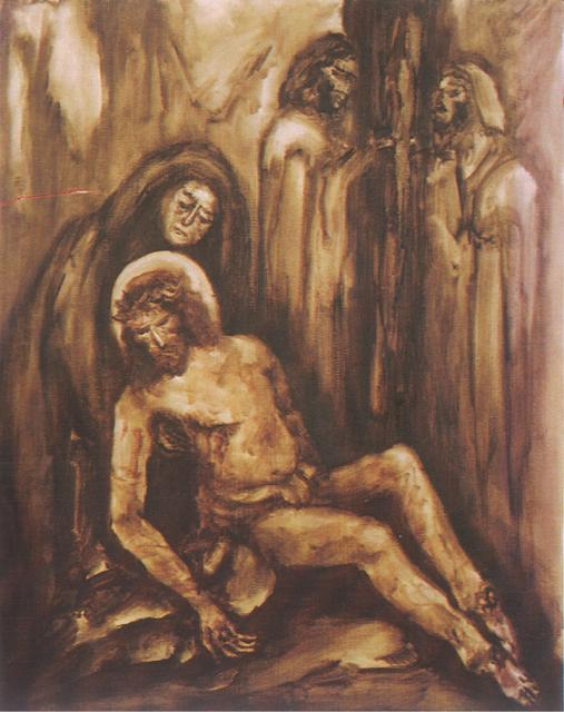 Jesus' Body Removed from the Cross    from   Stations of the Cross