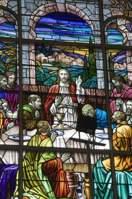 The Last Supper    detail from    The Last Supper