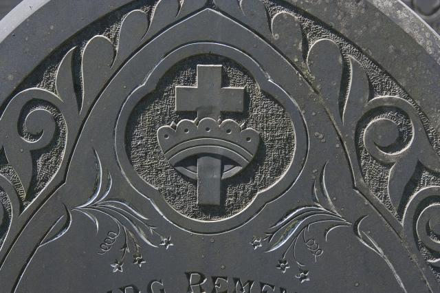 Cross with a Crown