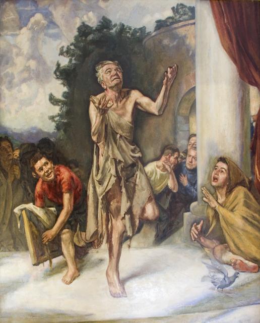 Leaping Beggar