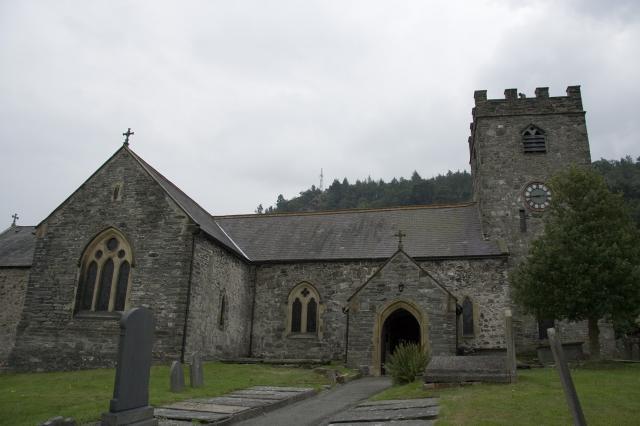 Church of St Mael and St Sulien, Corwen, Denbighshire _MG_2449.jpg Photo © Martin Crampin