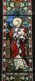 Christ the Good Shepherd: Moses and the Brazen Serpent with Christ the Good Shepherd and the Light of the World