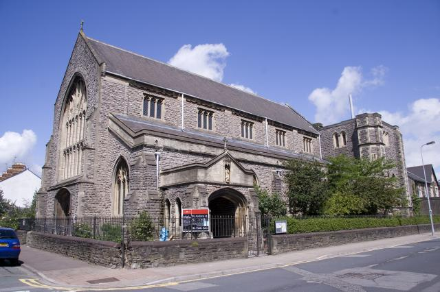 Church of St Andrew and St Teilo, Cathays, Cardiff, Glamorgan _MG_6754.jpg Photo © Martin Crampin, Imaging the Bible in Wales
