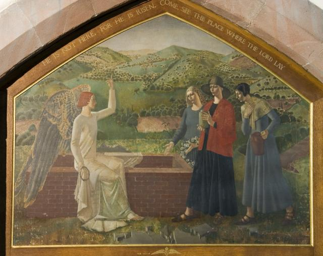 The Three Marys Visit the Empty Tomb
