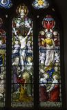 Crucifixion and Ascension: Crucifixion with Nativity and Ascension