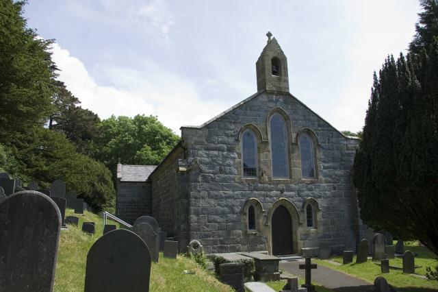 Church of St Tanwg, Harlech, Gwynedd _MG_0110A.jpg Photo © Martin Crampin, Imaging the Bible in Wales