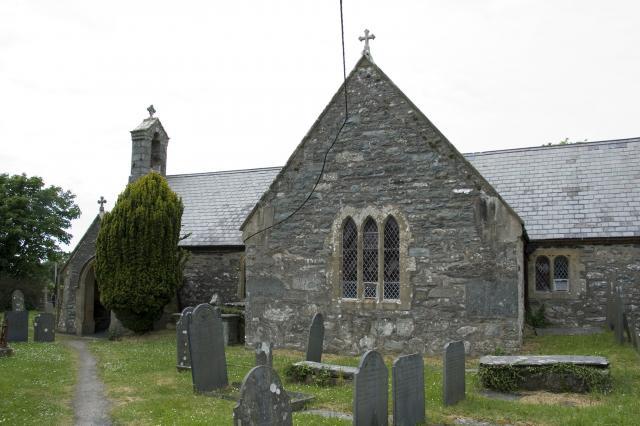 Church of St Enddwyn, Llanenddwyn, Gwynedd _MG_0176A.jpg Photo © Martin Crampin, Imaging the Bible in Wales