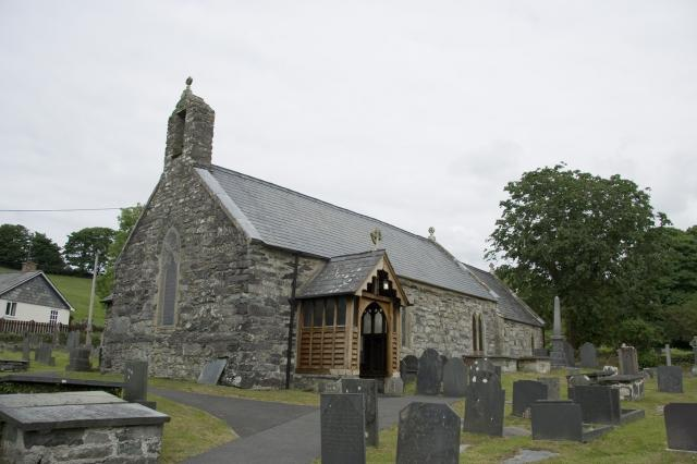 Church of St Peter, Llanbedr, Gwynedd _MG_0164A.jpg Photo © Martin Crampin, Imaging the Bible in Wales