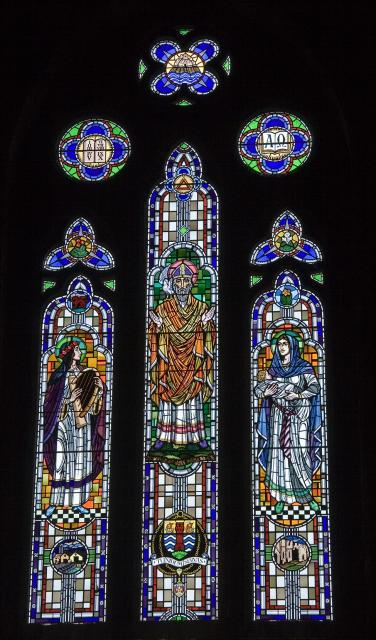 St David with St Cecilia and Virgin and Child