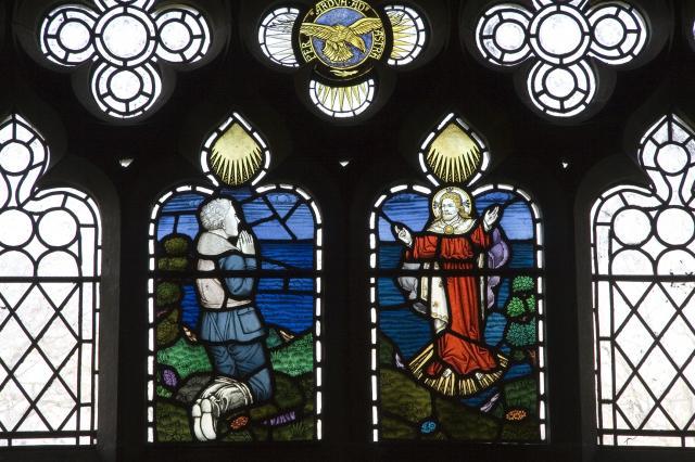 A Fallen Airman Meets the Risen Christ