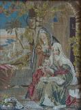 The Virgin Mary Teaching Christ to Read with St Anne