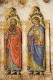 St Luke the Evangelist and St John the Evangelist: The Four Evangelists with St Peter and St Paul