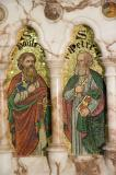 St Peter and St Paul: The Four Evangelists with St Peter and St Paul