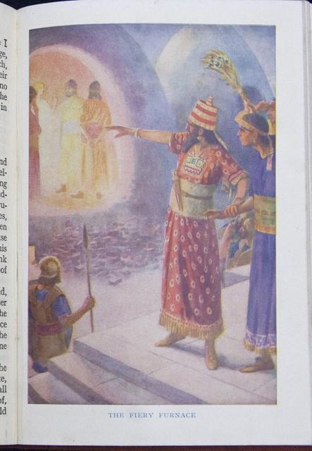 The Fiery Furnace    from    Illustrations from The School Bible