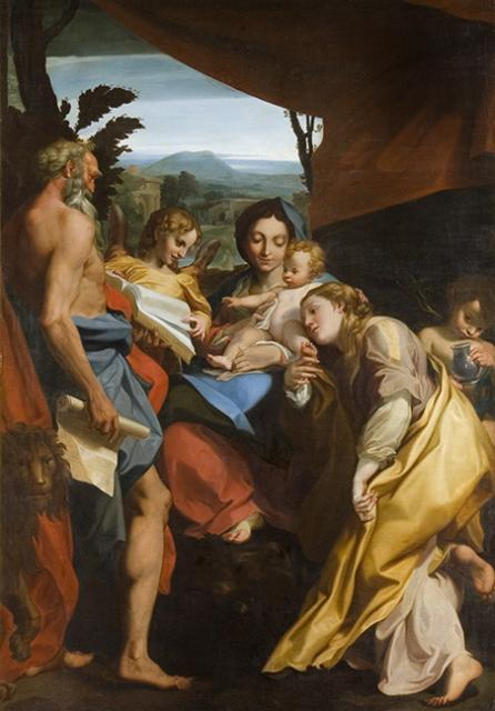 Madonna and Child with St Jerome and Mary Magdalene