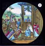 The Adoration of the Magi    from    Set of Lantern Slides