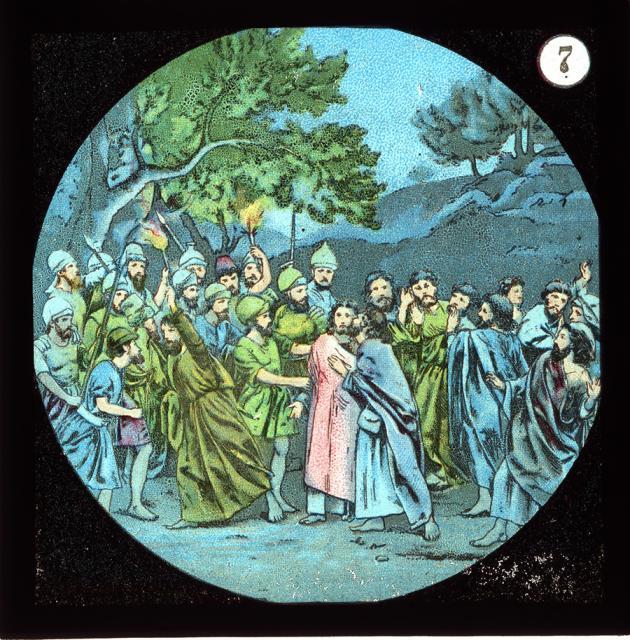 The Arrest of Christ    from    Set of Lantern Slides