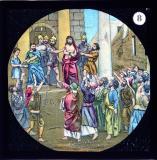 Christ Before Pilate    from    Set of Lantern Slides