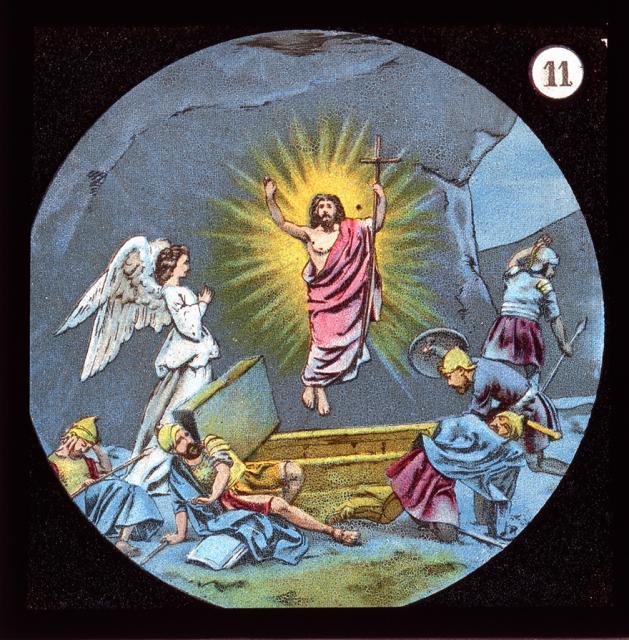 The Resurrection    from    Set of Lantern Slides