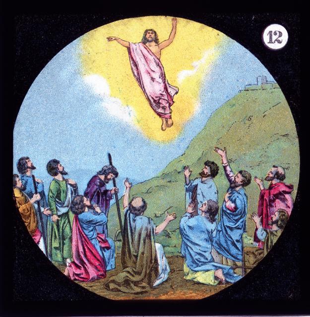The Ascension    from    Set of Lantern Slides