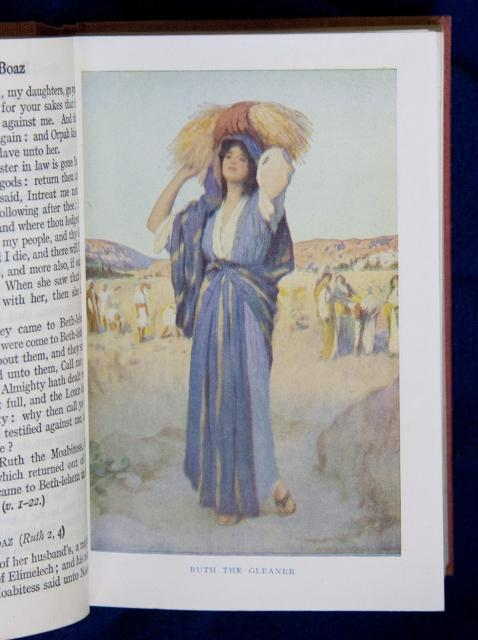 Ruth the Gleaner    from    Illustrations from The School Bible