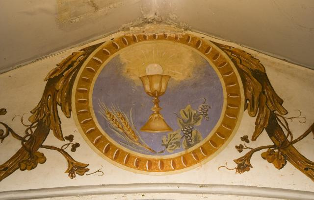 Chalice and Host    from    Roundels on the Roof Beams
