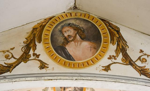Christ with the Crown of Thorns    from    Roundels on the Roof Beams