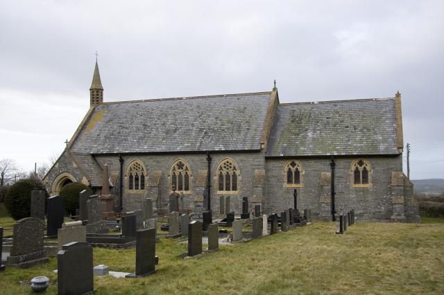 Church of St David, Carreg-wen, Pembrokeshire _MG_0439.jpg Photo © Martin Crampin, Imaging the Bible in Wales