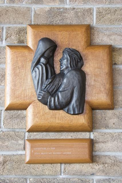Jesus Meets His Blessed Mother    from    Stations of the Cross