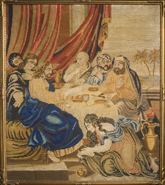 Christ's Feet are Anointed at the House of a Pharisee