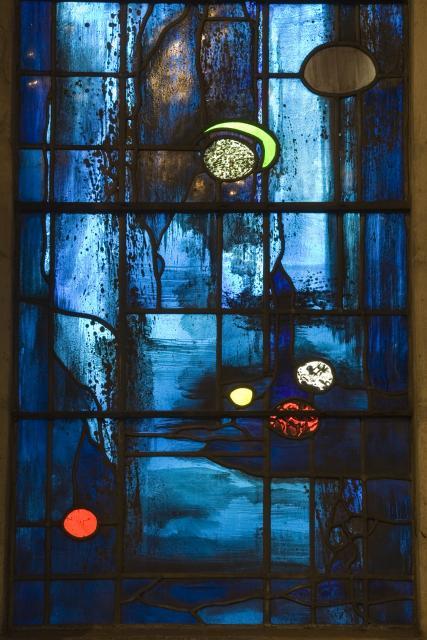Trinity Chapel Windows and Dorsal Painting