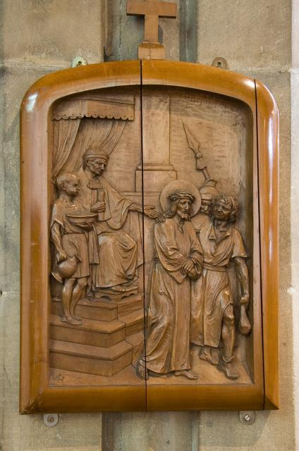 Jesus is Condemned to Death    from    Stations of the Cross