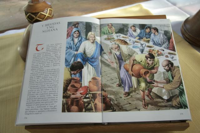 The Wedding at Cana    from    Illustrations from an Illustrated Bible