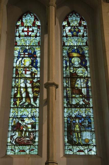 St George and St Denys