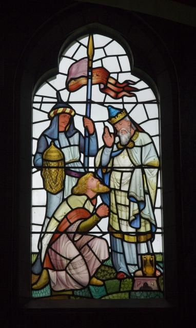 Abraham and Melchizedek    from    Scenes from the Life of Abraham